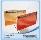 Удостоверение личности PVC пластмассы высокого качества чешет карточка названия фирмы