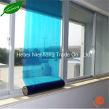 ruban adhésif matériel de la couleur 40microns de PE de PE bleu de film protecteur