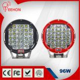 luz del trabajo de 9inch 96W LED