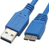 Hochgeschwindigkeits-USB 3.0 Cable Mikro-b Male zu einem Male