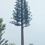 電気通信のための自然なごまかされたヒマラヤスギのツリーブランチタワー