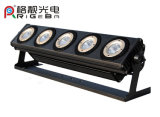 새로운 예술 메시 P5 LED 벽 세탁기 빛 RGBWA 5in1 5PCS 25W