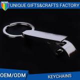 Metal feito sob encomenda Keychain com o presente da promoção do abridor de frasco