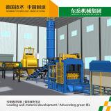 De volledige Automatische Beton/Bakstenen/de Blokken die van het Cement Machine Qt10-15 maken