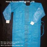 Abito chirurgico dell'ospedale di isolamento del chirurgo non tessuto a gettare del cappotto