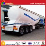 De 3 eixos do cimento de tanque do caminhão petroleiro maioria do pó do reboque Semi