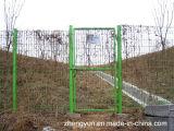 De ronde Buis Gelaste Deur van de Poort van de Tuin van de Omheining van het Netwerk van de Draad