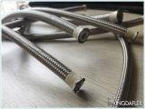 Smoothbore Teflon flexibles Hose/SAE100 R14 der Edelstahl-Flechten-Hose/PTFE