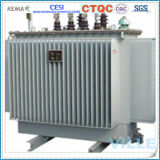 S14 het Type van Kern van Wond van de Reeks 160kVA 10kv verzegelde Olie hermetisch Ondergedompelde Transformator/de Transformator van de Distributie