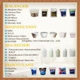 mais do pH/menos/cloreto de cálcio/bicarbonato de sódio/bissulfato/carbonato/ácido Cyanuric/ácido clorídrico para o produto químico do tratamento do equilibrador da água da piscina