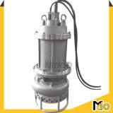 ステンレス鋼のインペラーの電気遠心浸水許容のスラリーポンプ