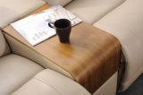 Conjunto Moderno del Sofá del Cuero de los Muebles de la Sala de Estar