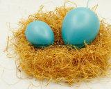 9 handgemalte DIY Ei-Dekoration der cm-Kind-für Ostern