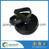 Couvercle de câble de 3 canaux Protecteur de câble en caoutchouc