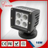 16W 3 indicatore luminoso del lavoro del camion di pollice LED