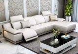 L meubles de sofa de Recliner de cuir de forme, meubles modernes de salle de séjour (G17324)