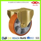 Roulette à roulement à double roulement robuste (P160-76F250X50)