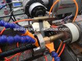Италия линия штрангя-прессовани полосы гидровлического PE оболочки шланга защитного спиральн оборачивая