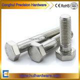 Schrauben des Hex Kopf-DIN931 rostfreie Steel304/316