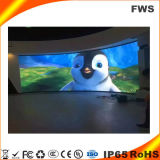 Visualización de LED de interior de la echada de HD P1.5625 Gaomi pequeña