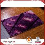 Couvre-tapis antidérapant de long tapis Shaggy de pile