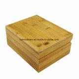 Contenitore di regalo di legno di bambù della vigilanza dell'artigianato