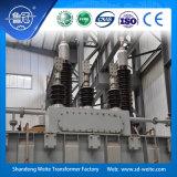 110kV de in olie ondergedompelde Transformator van de op-ladings kraan-veranderende Macht
