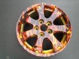 Moyeu de roue d'impression de transfert de l'eau de couleur