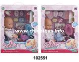 """Muñeca del nuevo juguete 15 """" con la bici (102552)"""