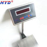 Balanza inoxidable de la placa de acero de la visualización del LCD/de LED