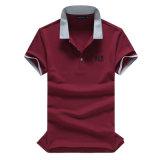 남자 폴로 t-셔츠, 주문 폴로 t-셔츠 또는 t-셔츠 폴로, OEM 자수 폴로 셔츠