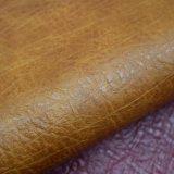 Tissu enduit de PVC de PVC d'arbre d'éponge de cuir dimensionnel de sac poly
