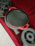 鋳造の小鍋を調理するための鋳鉄の小鍋の鋳鉄の版