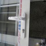 Qualitäts-Aluminiumprofil gestaltete Flügelfenster-Tür, Aluminiumtür, Tür K06011