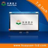 Écran LCD de 7 pouces avec le sens de visionnement de à 6 heures