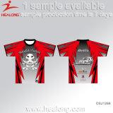 Healong t-셔츠 승화 t-셔츠 인쇄 t-셔츠