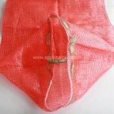 Sac net de maille tubulaire rouge bon marché des prix pp de la Chine pour l'oignon d'emballage