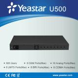Yeastar 500 usuários Ippbx híbrido (MyPBX U500)