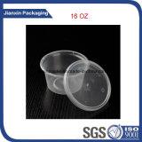 Rectángulo plástico de separación transparente del alimento de los utensilios de cocina