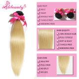 Zwei Ton-blonde Farben-brasilianisches Menschenhaar-Jungfrau Ombre Haar