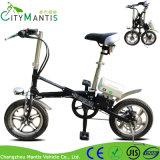 "250W Foldable小型Ebike 16の""炭素鋼都市電気自転車"