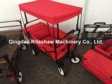 Rote Farben-handlicher Lastwagen mit Zelt