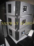 Ligne professionnelle rangée, PRO système de haut-parleur de W8LC de PA d'acoustique