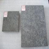 Carrelage en granit noir de différents types avec finition polie