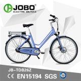 De elektrische de e-Fiets van de Stad Grote Bromfiets van de Motor van de Capaciteit Batterij In werking gestelde Hybride (jb-TDB26Z)