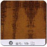 Yingcai 1m Film van Wtp van het Patroon van de Breedte Gele Rechte Houten