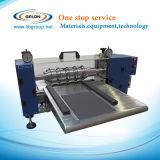 машина ширины 600mm полуавтоматная разрезая для листа электрода батареи иона лития