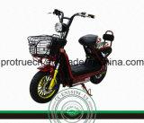 Batería de plomo de la motocicleta eléctrica roja