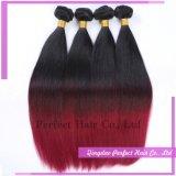 Выдвижение волос Remy тона краски 2 Customed естественное черное чисто