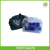 Het duidelijke Door buizen leiden van pvc van Flessen Vinyl draagt de Zak van de Totalisator met Ritssluiting